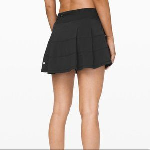 LULULEMON Pace Rival Skirt true black sz 12 T